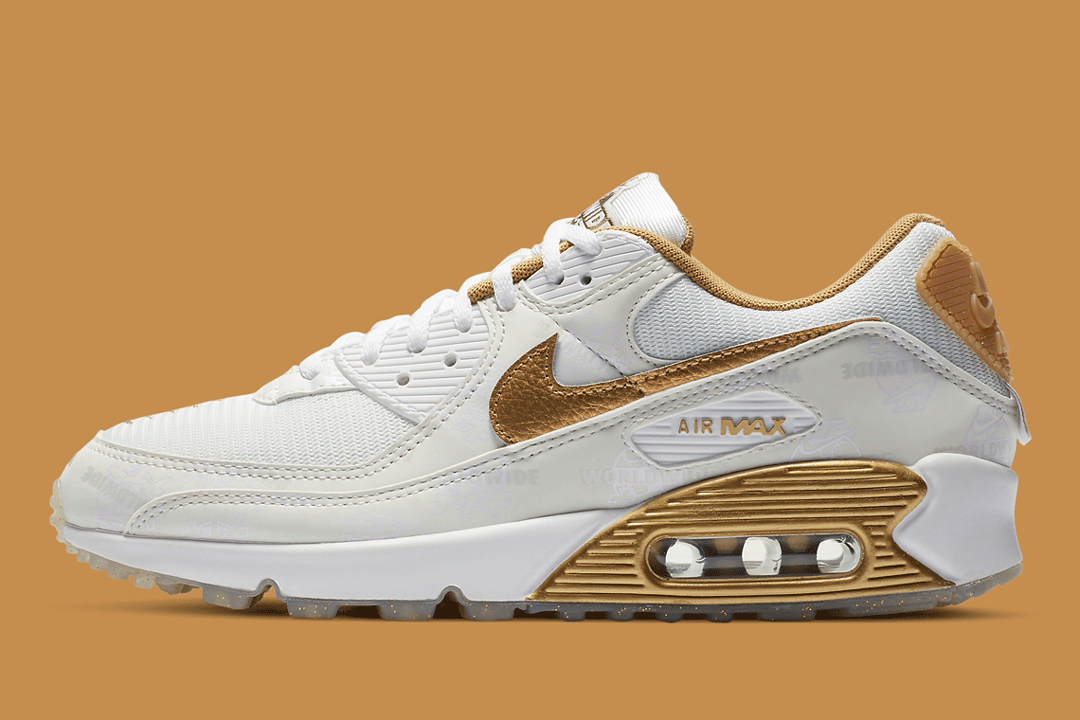 air max 90 gold pack