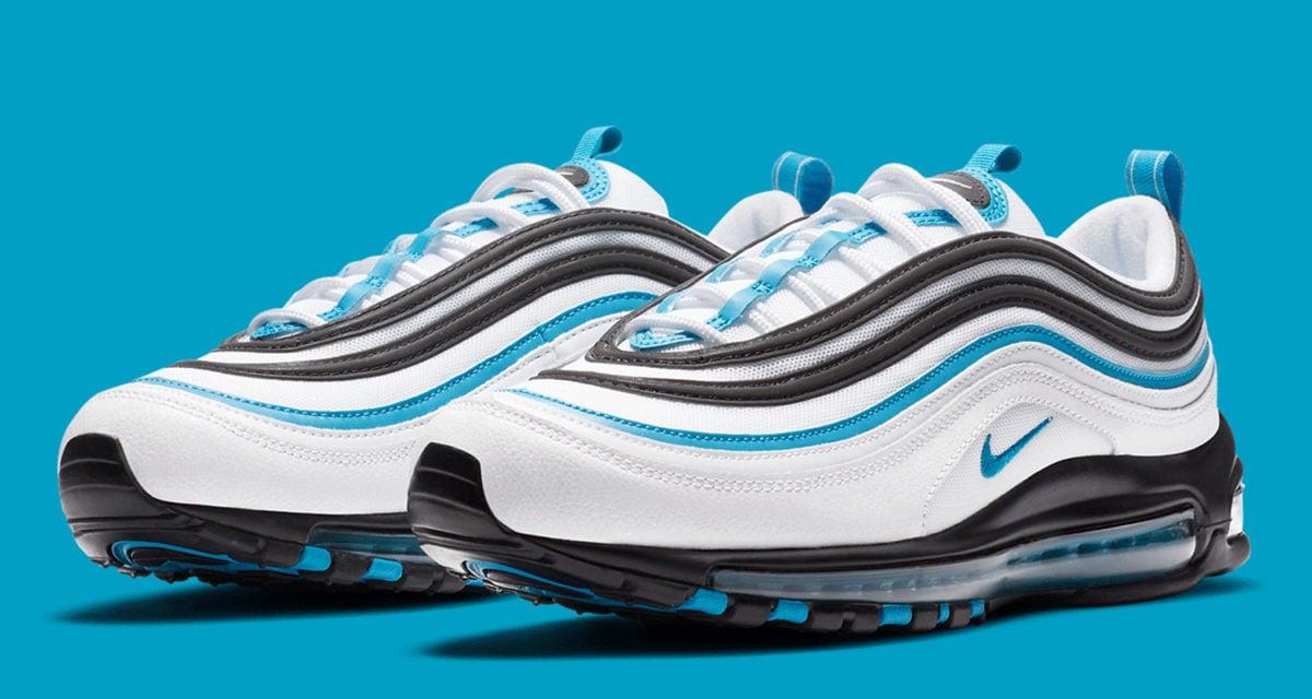 blue white and black air max 97