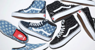 "Supreme & Vans Unveil ""Hole Punch Denim"" Collection for SS20"