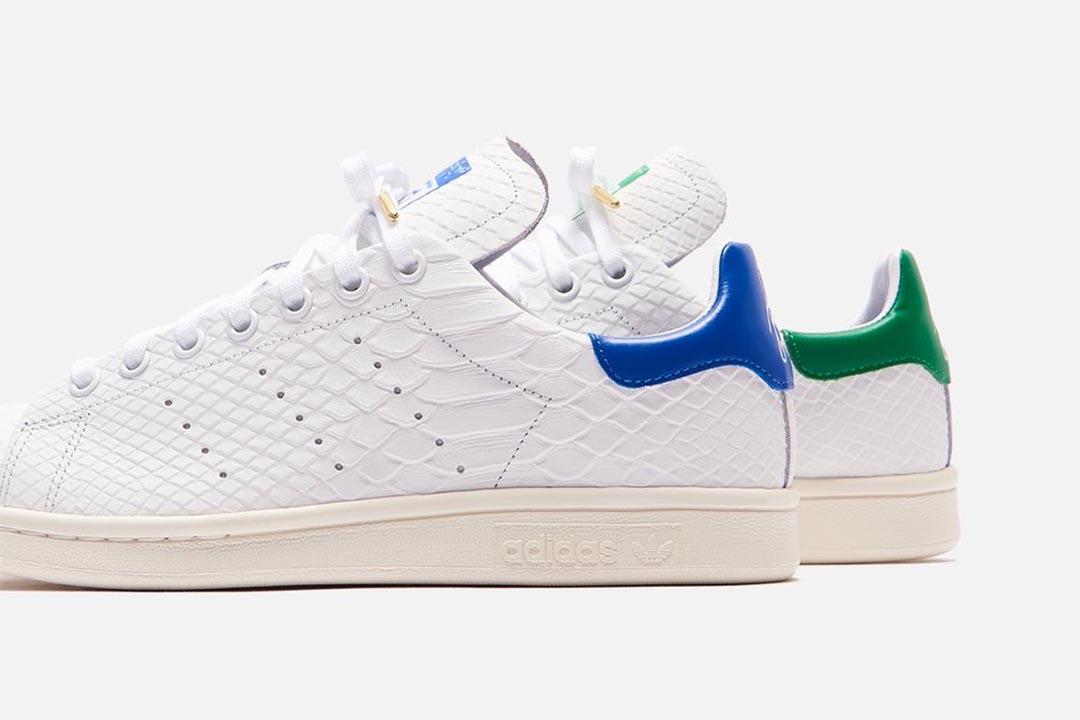 adidas stan smith crocodile skin