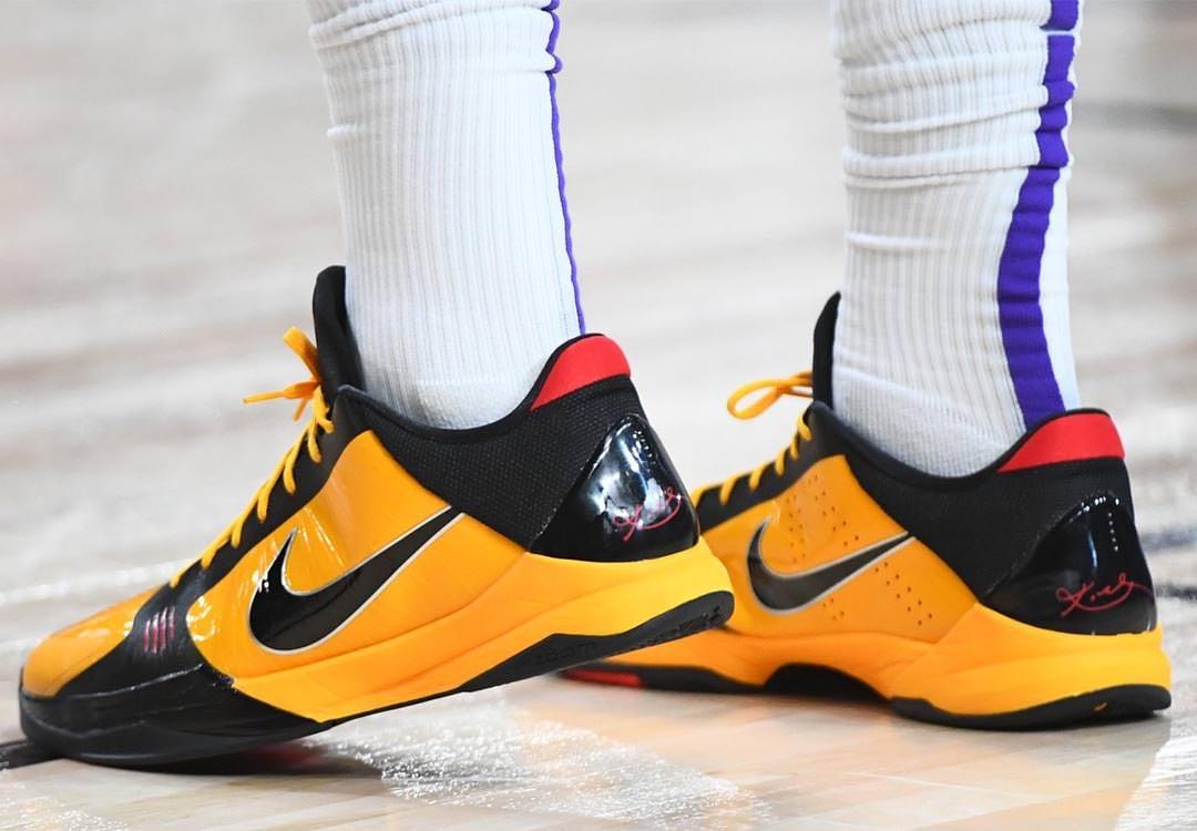 Nike Zoom Kobe 5 Continues in the NBA