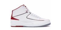 Air Jordan 2 White/Grey/Red