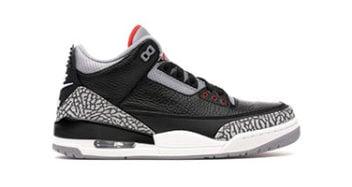 Air Jordan 3 Black/Cement