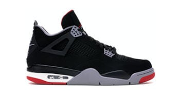Air Jordan 4 Black/Cement Bred