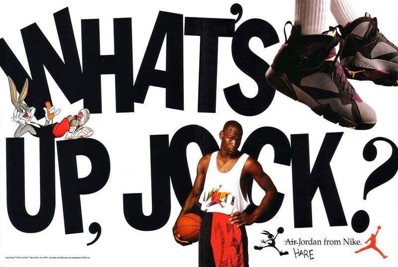 Air Jordan 7 What's Up Jock Poster