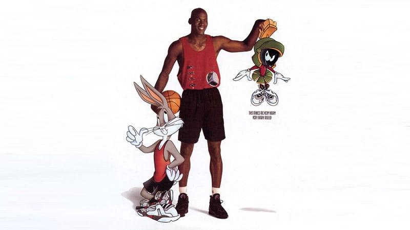 Air Jordan 8 Bugs Bunny poster
