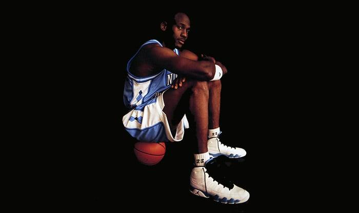 Air Jordan 9 Powder Blue
