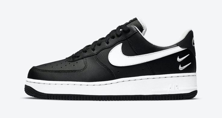 Nike Air Force 1 Low Black White CT2300 001 Release Date 01 1 736x392