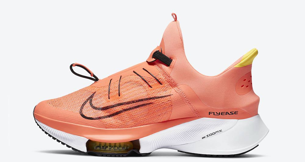 Nike Air Zoom Tempo NEXT% Flyease CV1889-800 Release Date | Nice Kicks