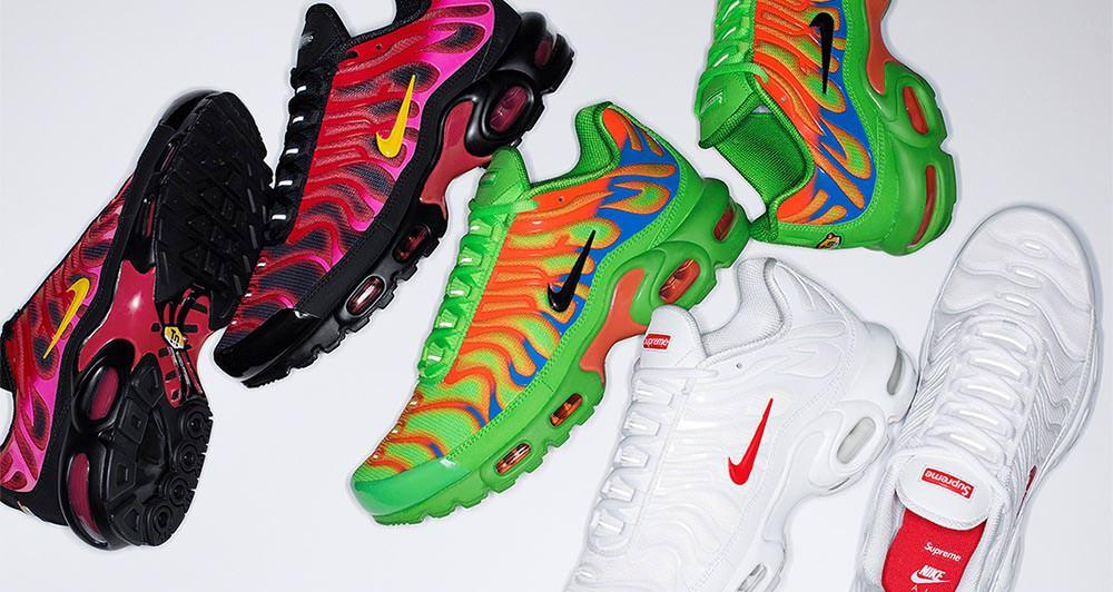 Supreme x Nike Air Max Plus Pack