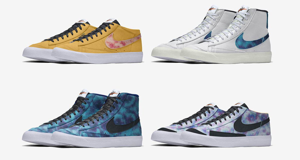 Nike by You Blazer Mid-Top And Cut-Off Release Date   Nice Kicks