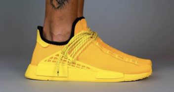 pharrell williams adidas nmd hu yellow