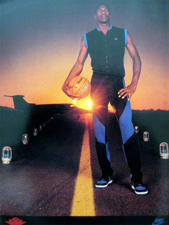 Air Jordan 1 Runway Poster 1985