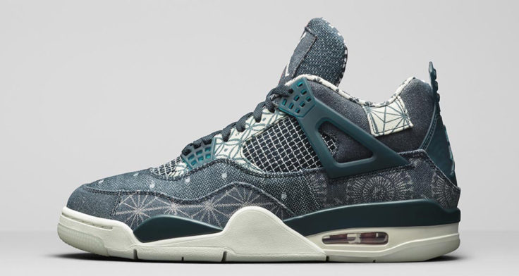Air Jordan 4 Retro SE Deep Ocean Sashiko