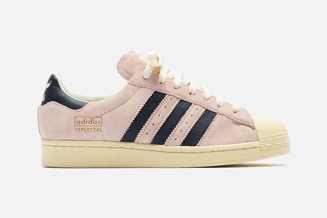 """Pink Tint"" Suede on the adidas Superstar is the Quintessential 80s Aesthetic"