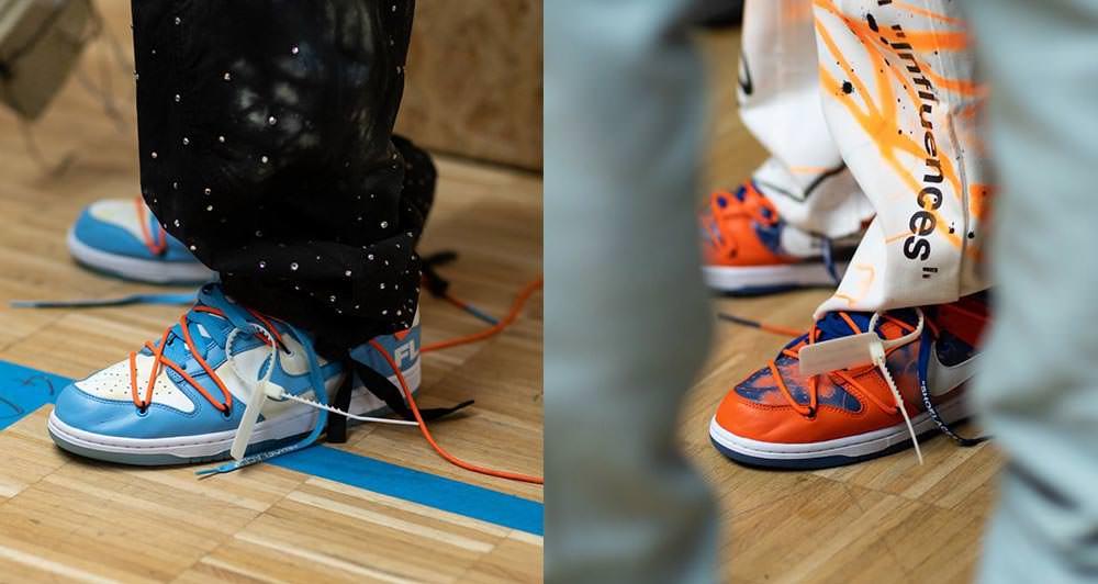OFF-WHITE x Futura x Nike Dunk Low