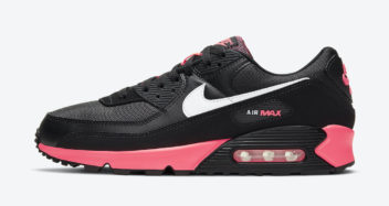 nike air max 90 black racer pink db3915 003 release date 0 352x187
