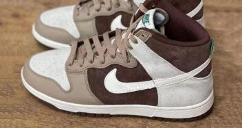 "Nike Dunk High ""Light Chocolate"" Sail/Khaki/Light Chocolate/Sail DH5348-100"