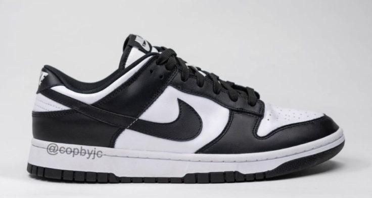 "Nike Dunk Low ""White/Black"""