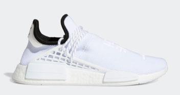 pharrell williams adidas nmd hu triple white