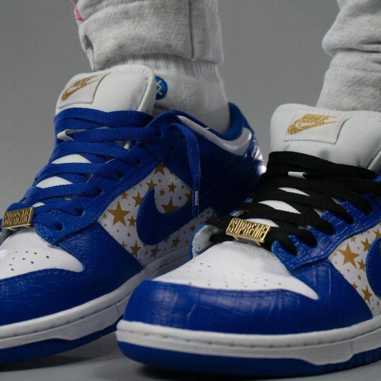 supreme-nike-sb-dunk-low-blue-stars-white-metallic-gold-hyper-blue-dh3228-100-release-date