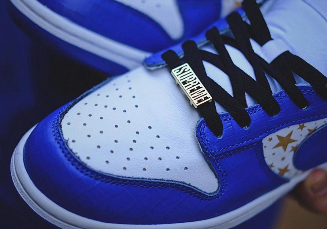 Supreme-Nike-SB-Dunk-Low-blue-stars-Hyper-Blue-DH3228-100-Release-Date