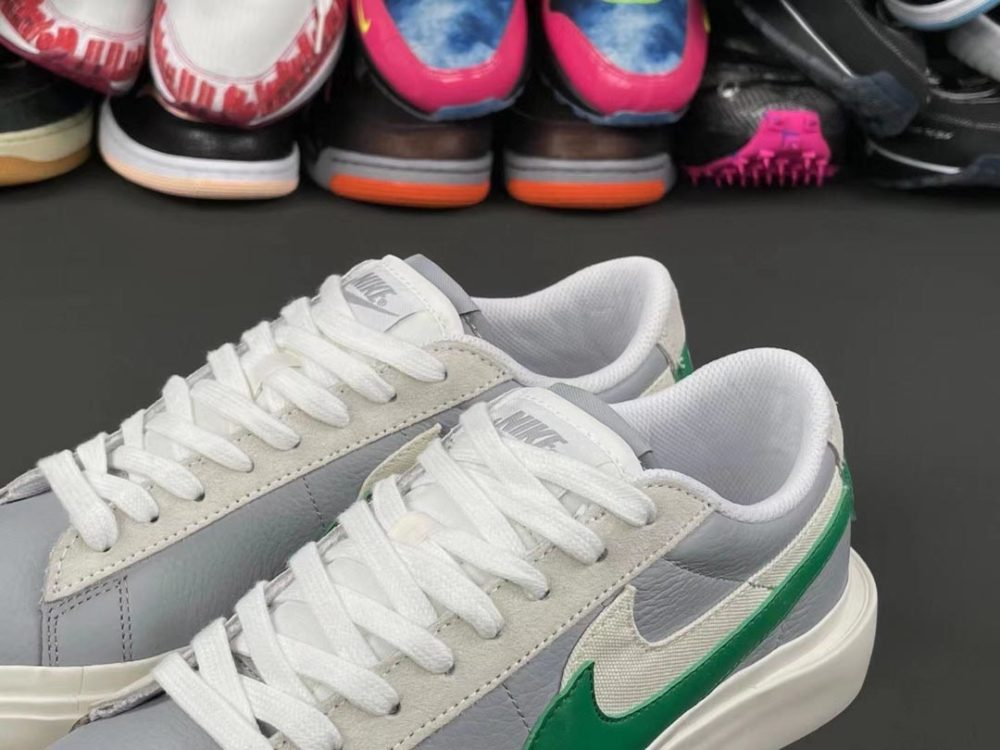 sacai-nike-blazer-low-medium-grey-classic-green-white-release-date