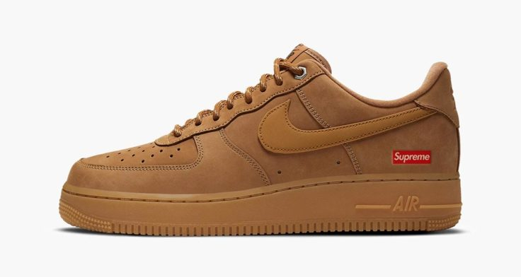 supreme-x-nike-air-force-1-low-flax-release-date