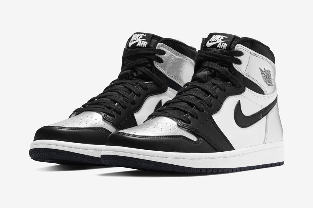 "Air Jordan 1 High OG WMNS ""Silver Toe"" CD0461-001"