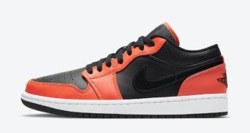 Air Jordan 1 Low SE Black Orange CK3022-008