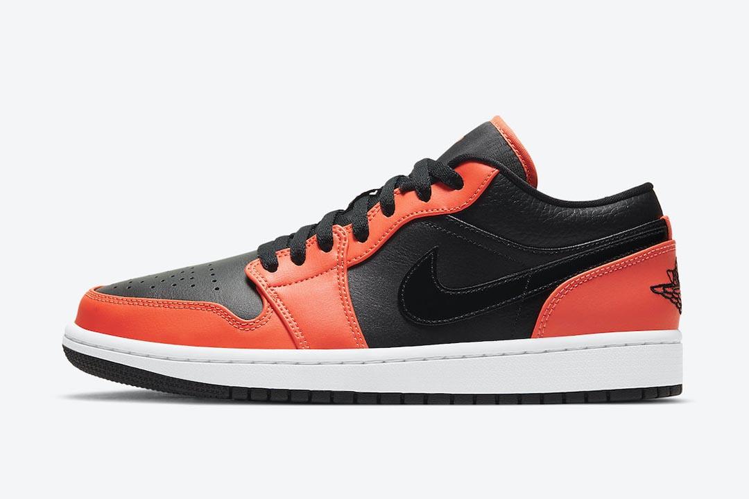 Air Jordan 1 Low SE Black Orange Release Date | Nice Kicks