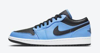 "Air Jordan 1 Low ""University Blue"" 553558-403"