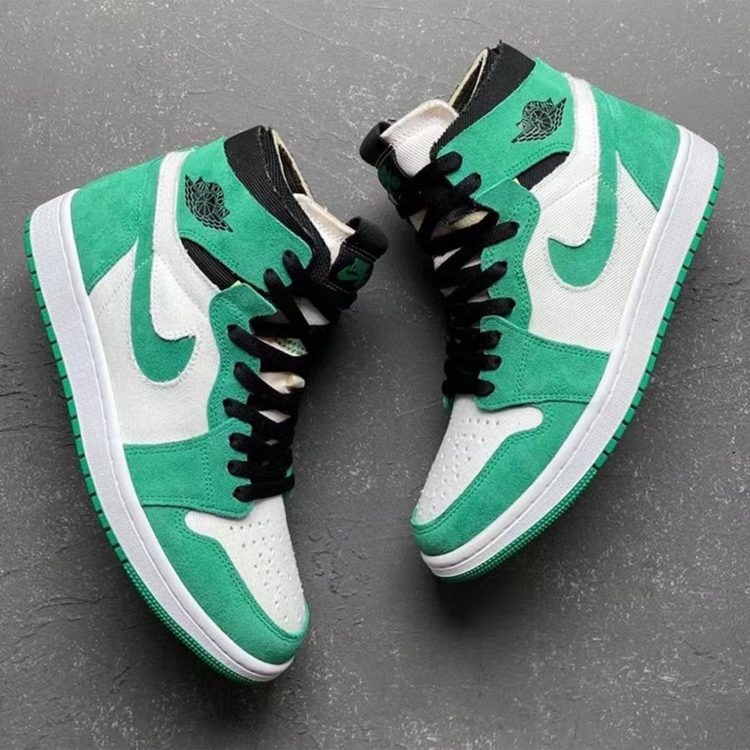 Wmns Air Jordan 1 High Zoom Comfort 'Stadium Green'
