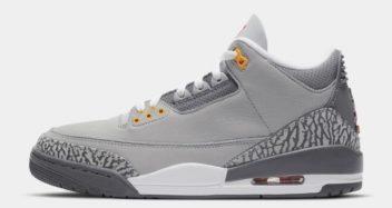 """Air Jordan 3 """"Cool Grey"""" CT8532-012"""