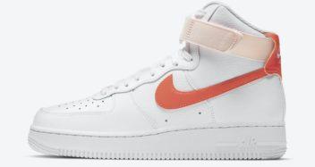 """Nike Air Force 1 High """"Orange Pearl"""" 334031-118"""