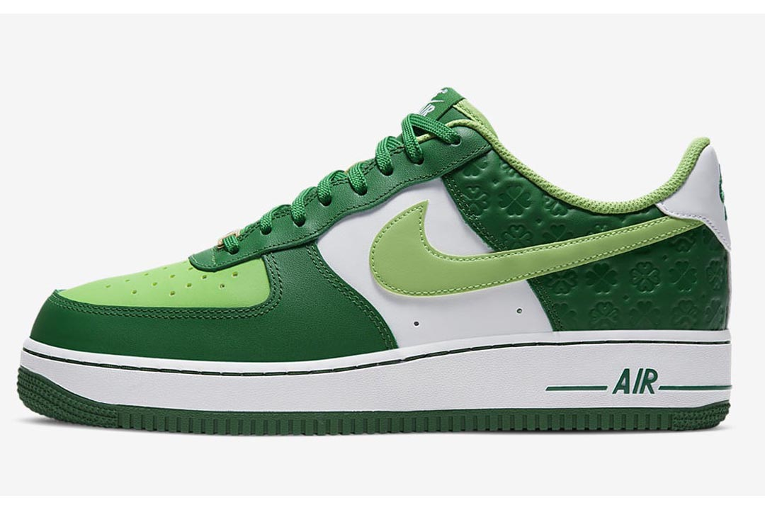 """Nike Air Force 1 Low """"St. Patrick's Day"""" DD8458-300"""