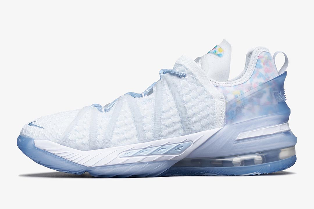 """Nike LeBron 18 NRG GS Set to Arrive In Icy """"Blue Tint"""" This Year"""