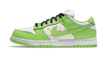 """Supreme x Nike SB Dunk Low """"Mean Green"""" DH3228-101"""