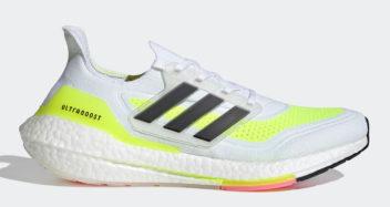 "adidas UltraBOOST 21 ""Solar Yellow"" FY0377"