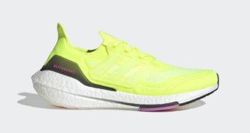 "adidas UltraBoost 21 ""Solar Yellow"" FY0373"