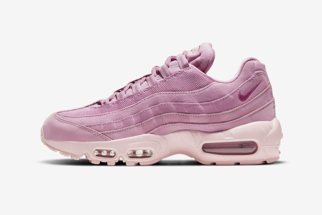 "Nike Air Max 95 ""Pink Suede"" - Where to Buy | Nice Kicks"