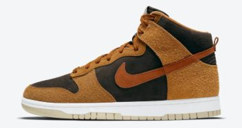 "Nike Dunk High PRM ""Dark Russet"" DD1401-200"