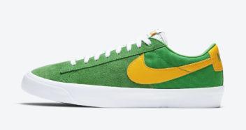 """Nike SB Blazer Low GT """"Lucky Green"""" DC7695-300"""