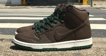 "Nike SB Dunk High ""Baroque Brown"""