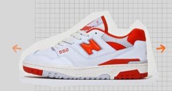 size? x New Balance 550