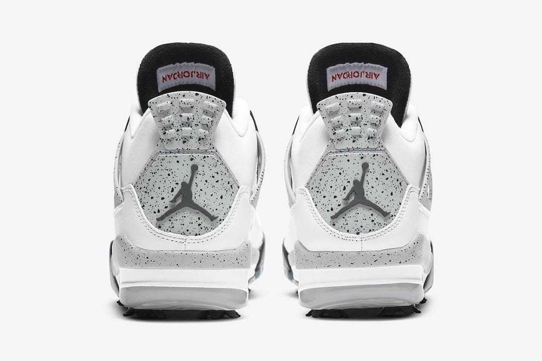 """Air Jordan 4 Golf """"White Cement"""" CU9981-100"""