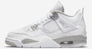 "Air Jordan 4 ""White Oreo"" GS"