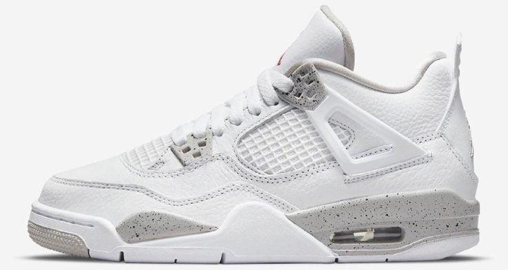 """Air Jordan 4 """"White Oreo"""" GS"""