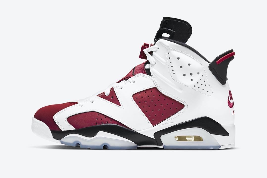 "Air Jordan 6 ""Carmine"" 2021 CT8529-106"