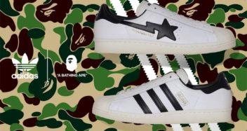 BAPE x adidas Superstar 80s Black/White Lead
